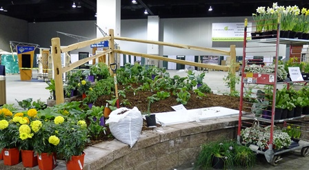 Master Gardeners Plan And Plant The CSU Extension Exhibit At The Colorado  Garden And Home Show.